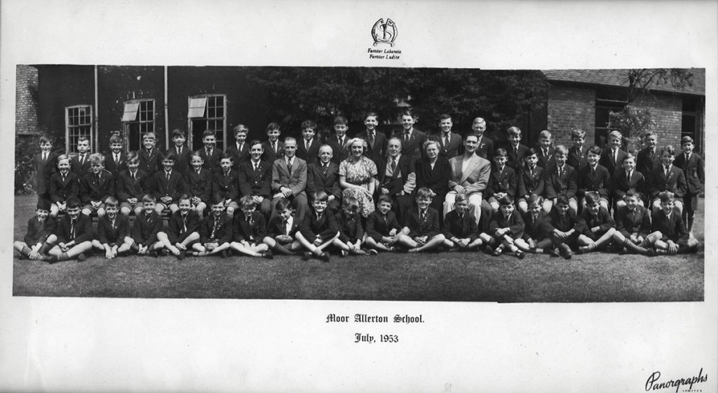 Whole School Photograph – 1953