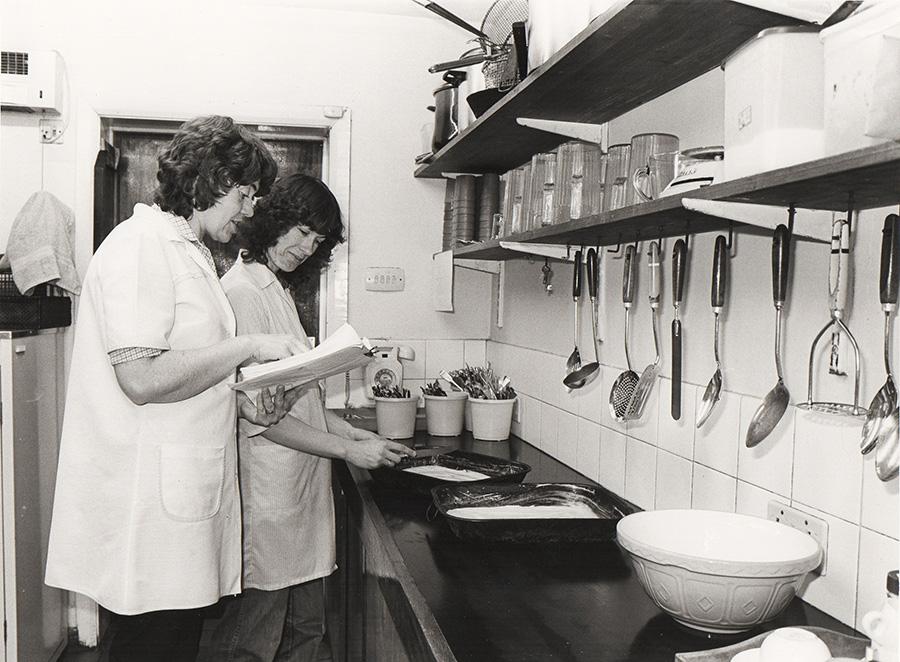 1980s Dinner Ladies